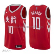 Barn Basketball Drakter Houston Rockets 2018 Eric Gordon 10# City Edition Swingman..