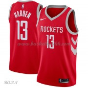 Barn Basketball Drakter Houston Rockets 2018 James Harden 13# Icon Edition Swingman..