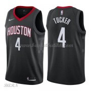 Barn Basketball Drakter Houston Rockets 2018 P.J. Tucker 2# Statement Edition Swingman..