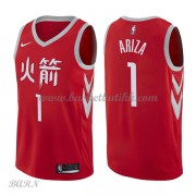 Barn Basketball Drakter Houston Rockets 2018 Trevor Ariza 1# City Edition Swingman..