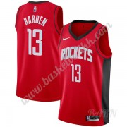 Barn Basketball Drakter Houston Rockets 2019-20 James Harden 13# Rød Icon Edition Swingman Drakt..