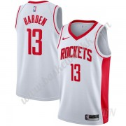 Barn Basketball Drakter Houston Rockets 2019-20 James Harden 13# Hvit Association Edition Swingman D..
