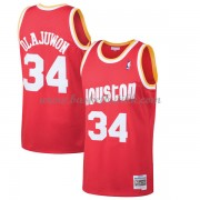 Houston Rockets Mens 1993-94 Hakeem Olajuwon 34# Red Hardwood Classics..