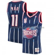 Houston Rockets Mens 2002-03 Yao Ming 11# Navy Hardwood Classics..
