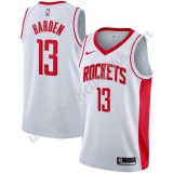 Houston Rockets NBA Basketball Drakter 2019-20 James Harden 13# Hvit Association Edition Swingman Drakt