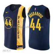 Barn Basketball Drakter Indiana Pacers 2018 Bojan Bogdanovic 44# City Edition Swingman..