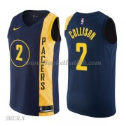 Barn Basketball Drakter Indiana Pacers 2018 Darren Collison 2# City Edition Swingman..