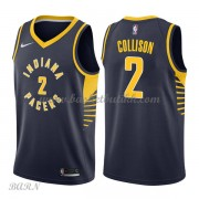 Barn Basketball Drakter Indiana Pacers 2018 Darren Collison 2# Icon Edition Swingman..