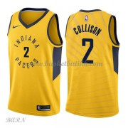 Barn Basketball Drakter Indiana Pacers 2018 Darren Collison 2# Statement Edition Swingman..