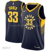 Barn Basketball Drakter Indiana Pacers 2018 Myles Turner 33# Icon Edition Swingman..