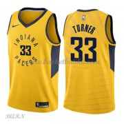 Barn Basketball Drakter Indiana Pacers 2018 Myles Turner 33# Statement Edition Swingman..
