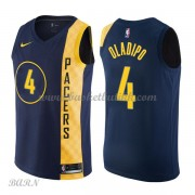 Barn Basketball Drakter Indiana Pacers 2018 Victor Oladipo 4# City Edition Swingman..