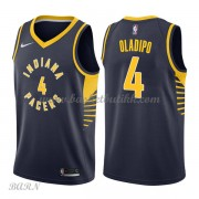 Barn Basketball Drakter Indiana Pacers 2018 Victor Oladipo 4# Icon Edition Swingman..