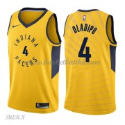Barn Basketball Drakter Indiana Pacers 2018 Victor Oladipo 4# Statement Edition Swingman..
