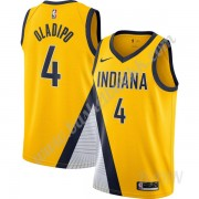 Barn Basketball Drakter Indiana Pacers 2019-20 Victor Oladipo 4# Gull Finished Statement Edition Swi..