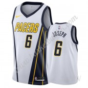 Barn Basketball Drakter Indiana Pacers 2019-20 Cory Joseph 6# Hvit Earned Edition Swingman Drakt..