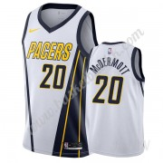 Barn Basketball Drakter Indiana Pacers 2019-20 Doug McDermott 20# Hvit Earned Edition Swingman Drakt..