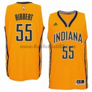 Indiana Pacers NBA Basketball Drakter 2015-16 Roy Hibbert 55# Alternate Drakt..