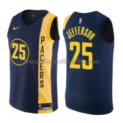 Indiana Pacers NBA Basketball Drakter 2018 Al Jefferson 25# City Edition..