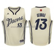 Indiana Pacers Basketball Drakter 2015 Paul George 13# NBA Julen Drakt..