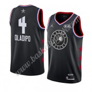 Indiana Pacers 2019 Victor Oladipo 4# Svart All Star Game NBA Basketball Drakter Swingman..