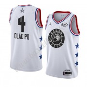 Indiana Pacers 2019 Victor Oladipo 4# Hvit All Star Game NBA Basketball Drakter Swingman..