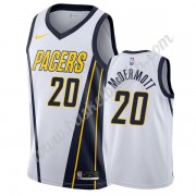 Indiana Pacers NBA Basketball Drakter 2019-20 Doug McDermott 20# Hvit Earned Edition Swingman Drakt..
