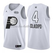 Indiana Pacers Victor Oladipo 4# Hvit 2018 All Star Game NBA Basketball Drakter..