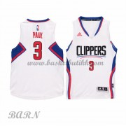 Los Angeles Clippers Barn 2015-16 Chris Paul 3# Home NBA Basketball Drakter..
