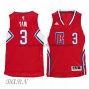 Barn Basketball Drakter Los Angeles Clippers 2015-16 Chris Paul 3# Road..