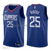 Barn Basketball Drakter Los Angeles Clippers 2018 Austin Rivers 25# Icon Edition Swingman..