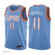 Barn Basketball Drakter Los Angeles Clippers 2018 Avery Bradley 11# City Edition Swingman..