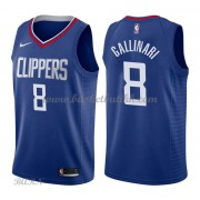 Barn Basketball Drakter Los Angeles Clippers 2018 Danilo Gallinari 8# Icon Edition Swingman..