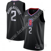 Barn Basketball Drakter Los Angeles Clippers 2019-20 Shai Gilgeous-Alexander 2# Statement Edition Sw..