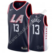 Barn Basketball Drakter Los Angeles Clippers 2019-20 Paul George 13# Marinen City Edition Swingman D..