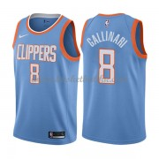 Los Angeles Clippers NBA Basketball Drakter 2018 Danilo Gallinari 8# City Edition..