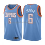 Los Angeles Clippers NBA Basketball Drakter 2018 Deandre Jordan 6# City Edition..