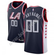 Los Angeles Clippers NBA Basketball Drakter 2019-20 Marinen City Edition Swingman Drakt..