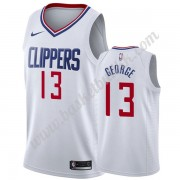 Los Angeles Clippers NBA Basketball Drakter 2019-20 Paul George 13# Hvit Association Edition Swingma..