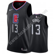 Los Angeles Clippers NBA Basketball Drakter 2019-20 Paul George 13# Svart Statement Edition Swingman..