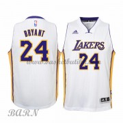 Los Angeles Lakers Barn 2015-16 Kobe Bryant 24# White Home NBA Basketball Drakter..