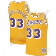 Barn Basketball Drakter Los Angeles Lakers 1984-85 Kareem Abdul-Jabbar 33# Gull Hardwood Classics Sw..