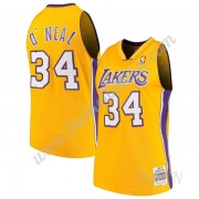 Barn Basketball Drakter Los Angeles Lakers 1999-00 Shaquille O'Neal 34# Gull Hardwood Classics Swing..