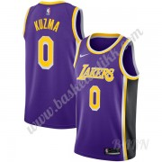 Barn Basketball Drakter Los Angeles Lakers 2019-20 Kyle Kuzma 0# Purple Statement Edition Swingman D..