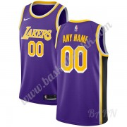 Barn Basketball Drakter Los Angeles Lakers 2019-20 Purple Statement Edition Swingman Drakt..