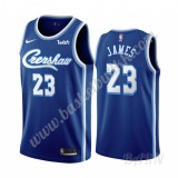 Barn Basketball Drakter Los Angeles Lakers 2019-20 LeBron James 23# Blå Classics Edition Swingman Drakt