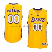 Los Angeles Lakers NBA Basketball Drakter 2015-16 Gold Hjemme Drakt..