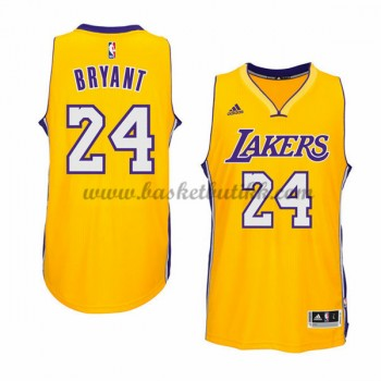 Los Angeles Lakers NBA Basketball Drakter 2015-16 Kobe Bryant 24# Gold Hjemme Drakt
