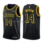 Los Angeles Lakers NBA Basketball Drakter 2018 Brandon Ingram 14# City Edition..