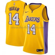 Los Angeles Lakers NBA Basketball Drakter 2018 Brandon Ingram 14# Icon Edition..
